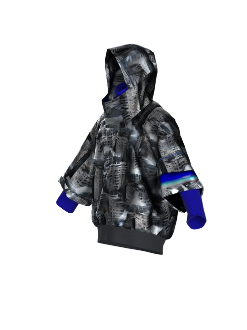 NETWORK GENERATED PANELKA HOODIE