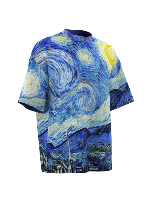 TSHIRT Oversize- The Starry Night