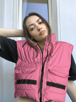 Garment Dyed Vest by Aschno