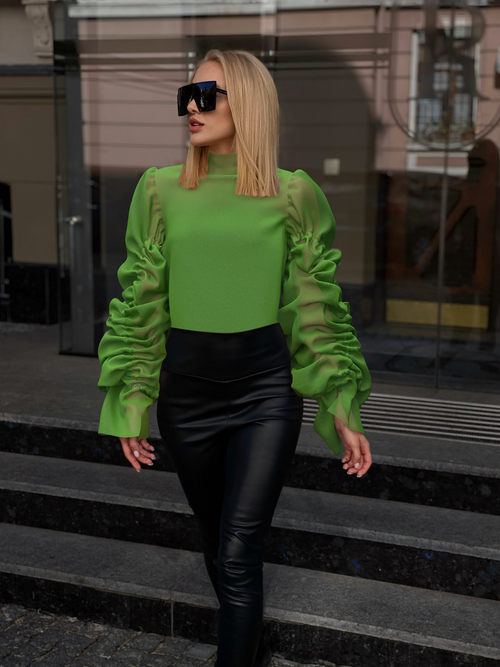 Lime top by Nina Doll