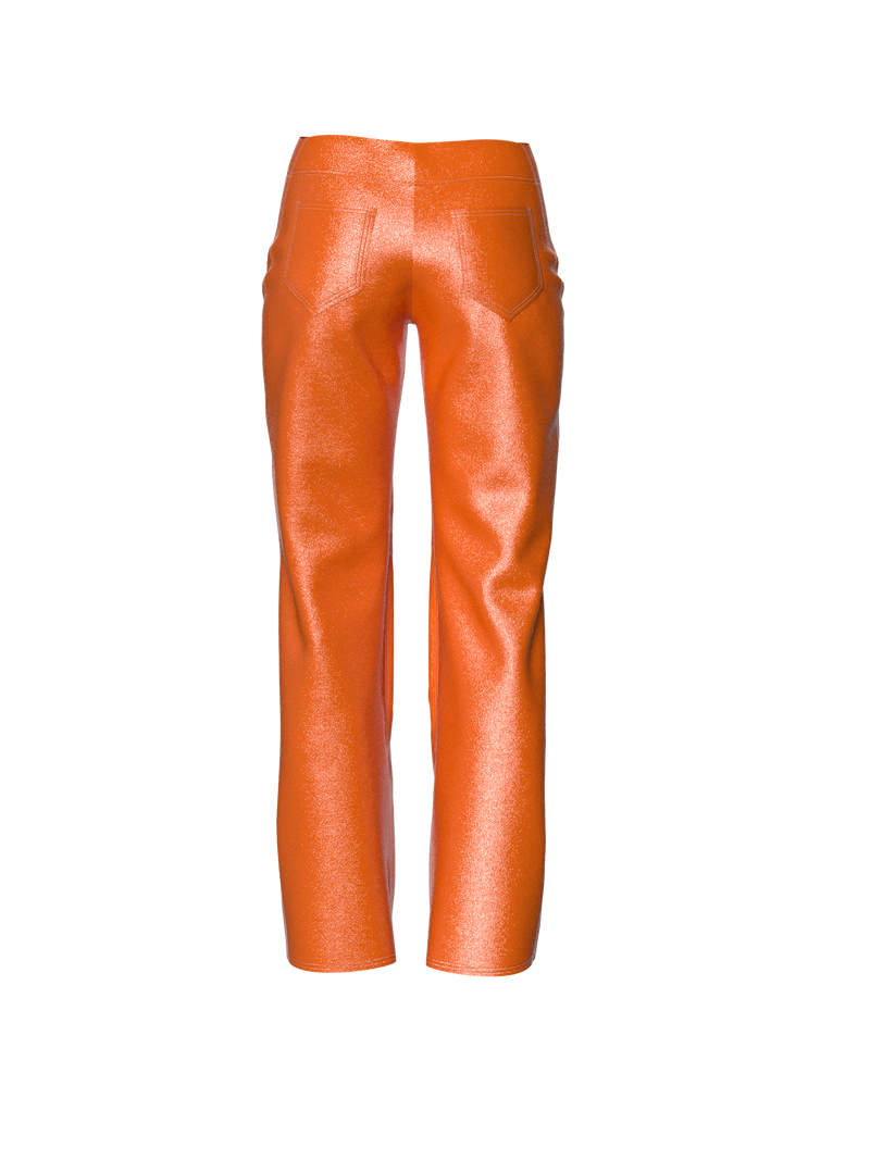 Orange pants by Nina Doll