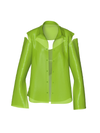 Semi-Transparent Lime Blazer by Nina Doll