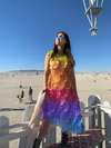 Rainbow dress by Paskal