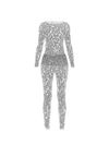 Overall Suit Silver Transparent