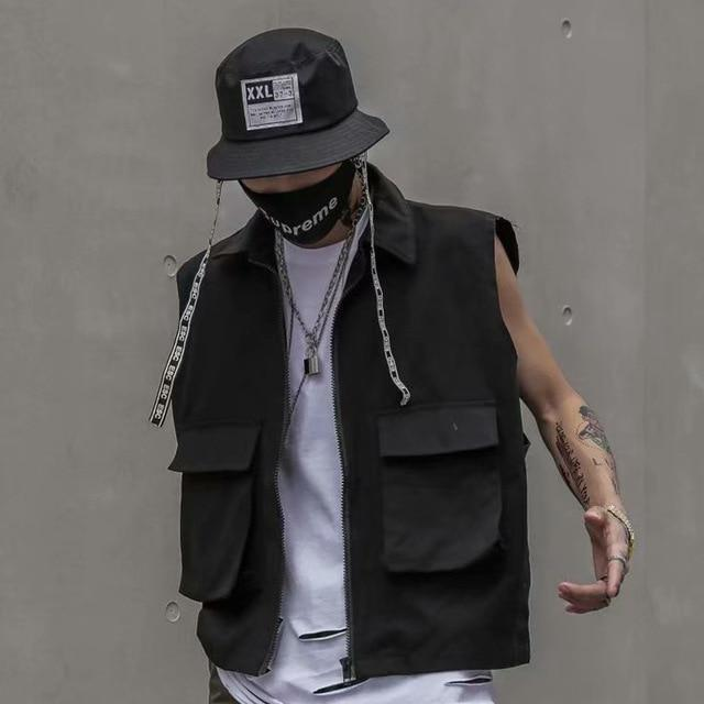 Dark Vintage Tactical Vest