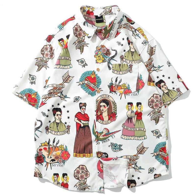 Frida Kahlo Summer Shirt