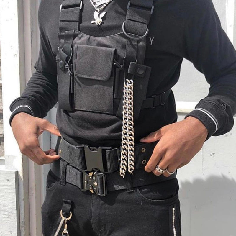 KS - SA Tactical Chest Bags Streetwear Brand Techwear Brand Top Streetwear Brand
