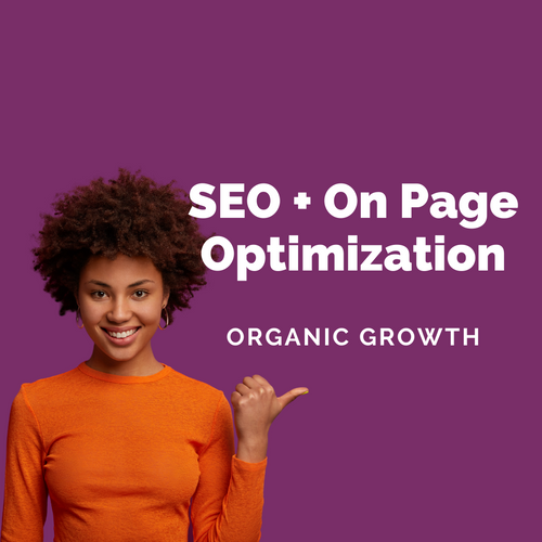 SEO + On Page Optimization - Samantha Johnson