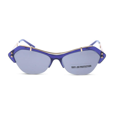 Tod's Damen Sonnenbrille TO0166 90A Shiny Blue