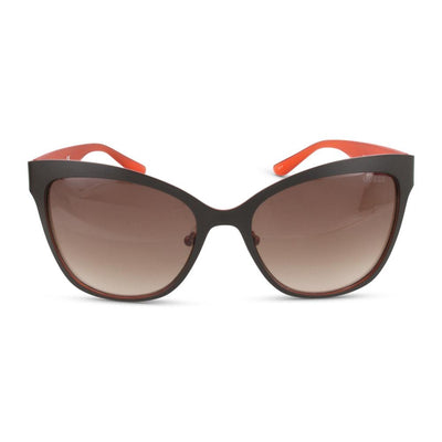 Guess Damen Sonnenbrille GU7465 50F Dark Brown / Orange
