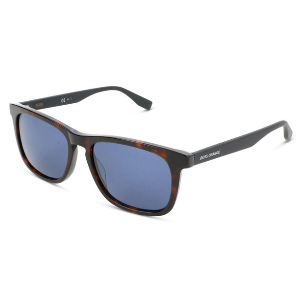 Boss Orange Herren Sonnenbrille BO 0317-S 86 Dark Havana