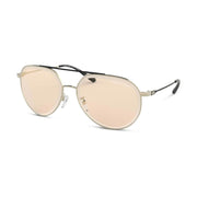 MICHAEL KORS Damen Sonnenbrille MK1041 101473 60 Shiny Pale Gold Antigua