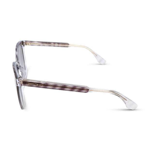 Jimmy Choo Damen Sonnenbrille REECE-S LWZ Striped Glitter Black