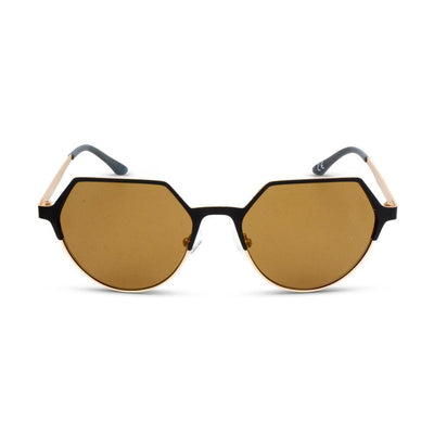Adidas Damen Sonnenbrille AOM007 CI8334 9120 Black And Gold