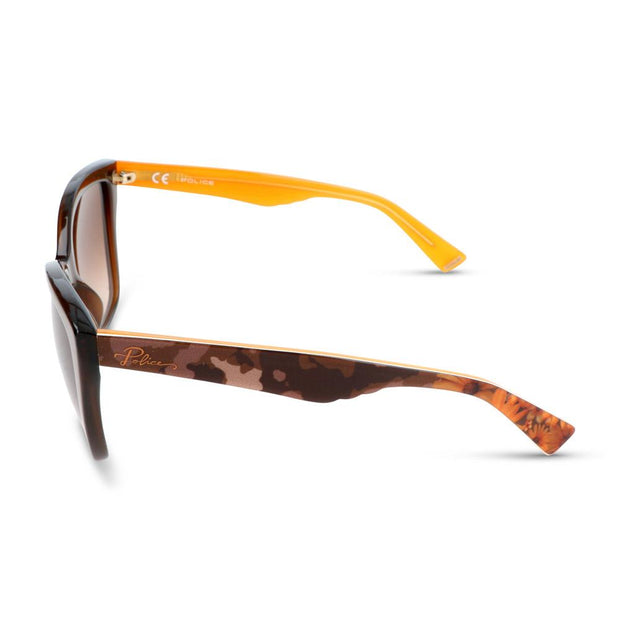 Police Damen Sonnenbrille SPL407 893 Shiny Brown