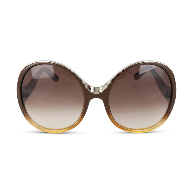 Chloè Damen Sonnenbrille CE713S 228 Gradient Brown/Yellow