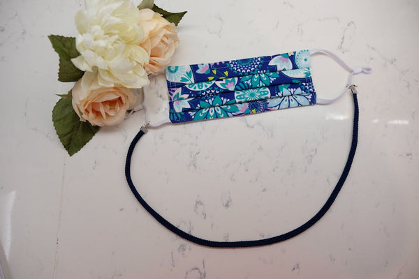 Braided Lanyard Mask Necklace