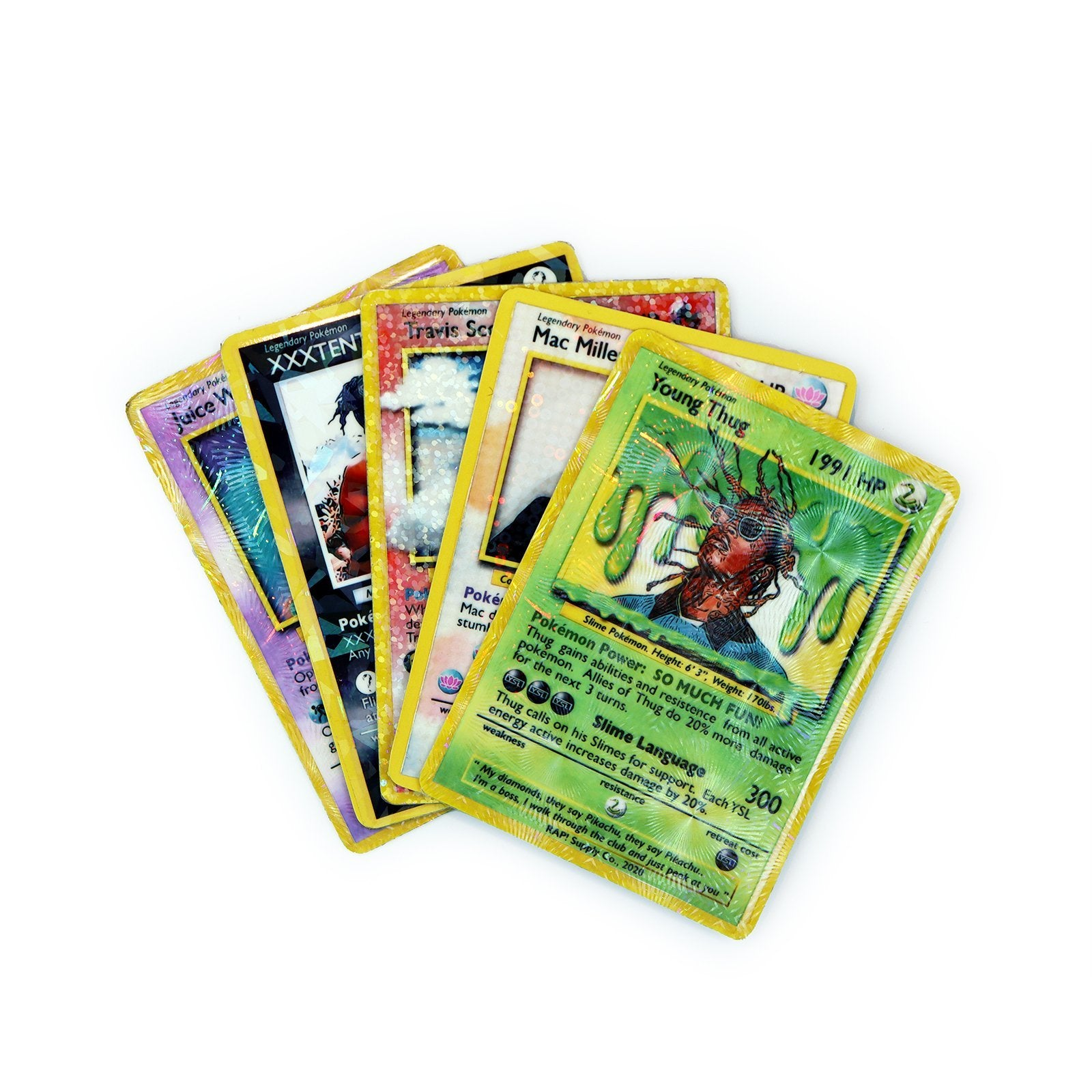 5 Remix Card Power Pack - Rap Supply Co.