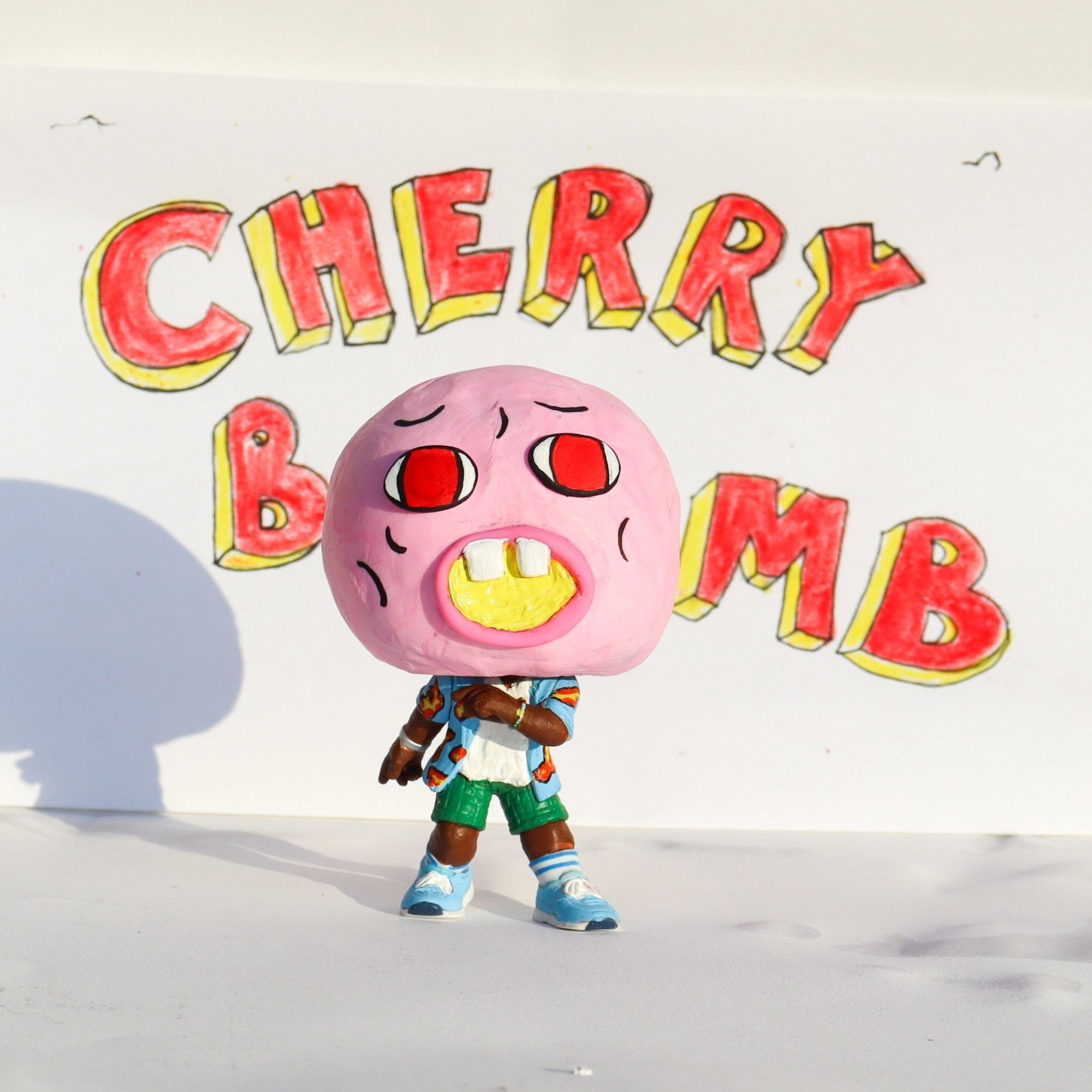 Cherry Bomb - Custom Bobblehead Pop - Rap Supply Co.
