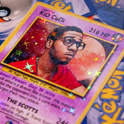 Cudi REMIX Trading Card - Rap Supply Co