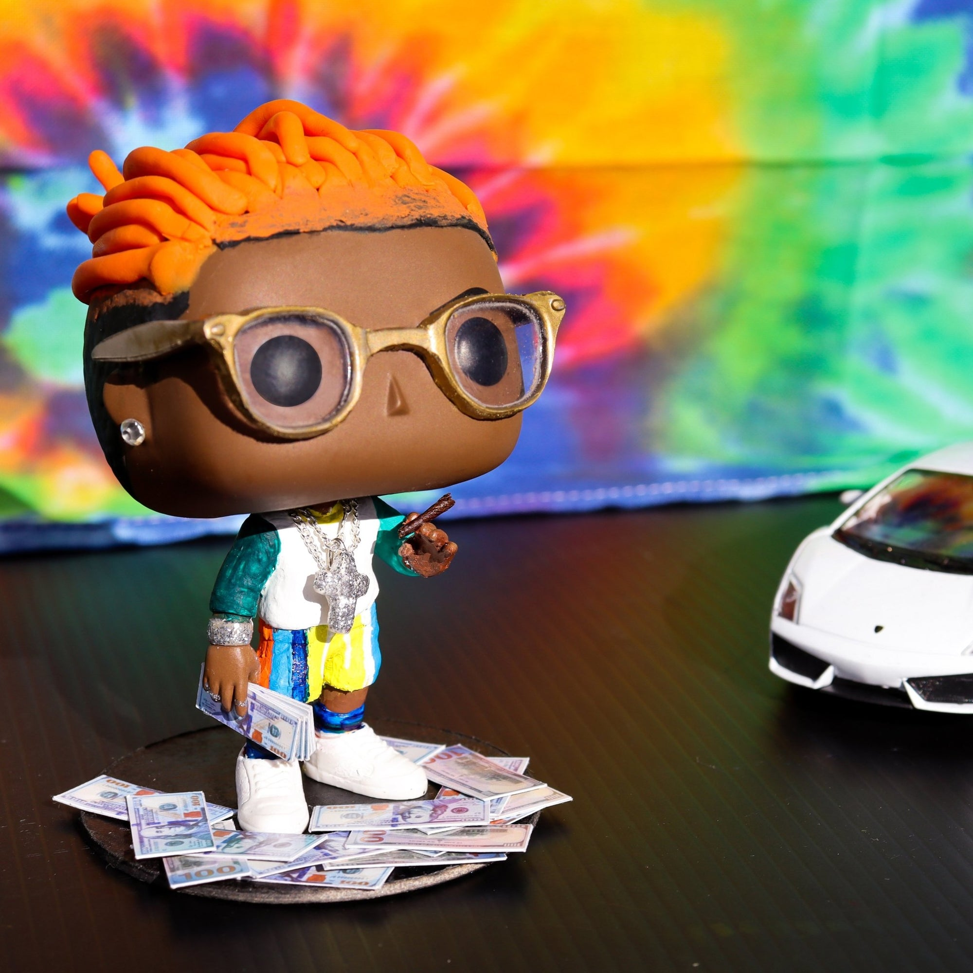Gunna 01 (WUNNA FLO) - Custom Bobblehead Pop - Rap Supply Co.
