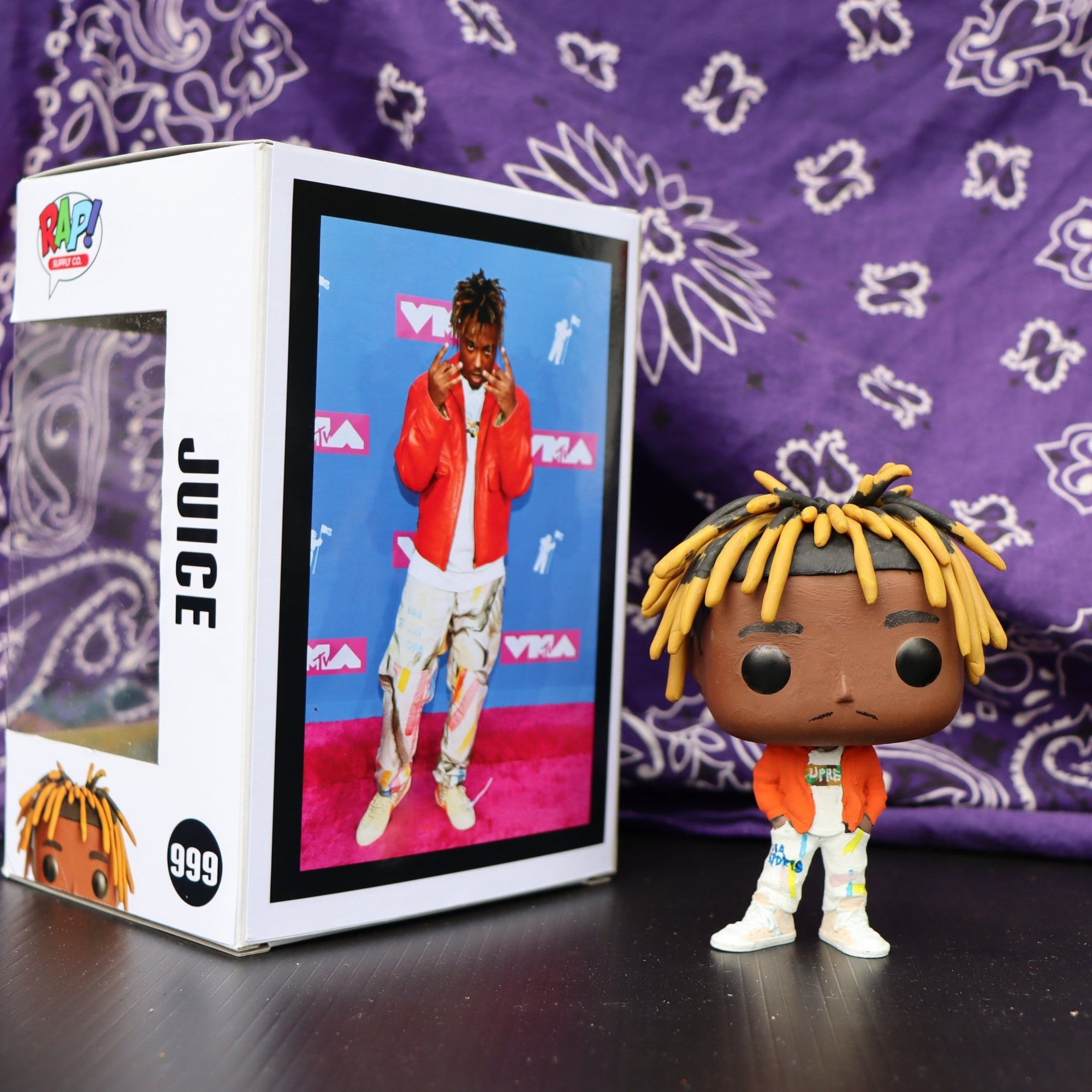 Juice 999 - Custom Bobblehead Pop - Rap Supply Co.