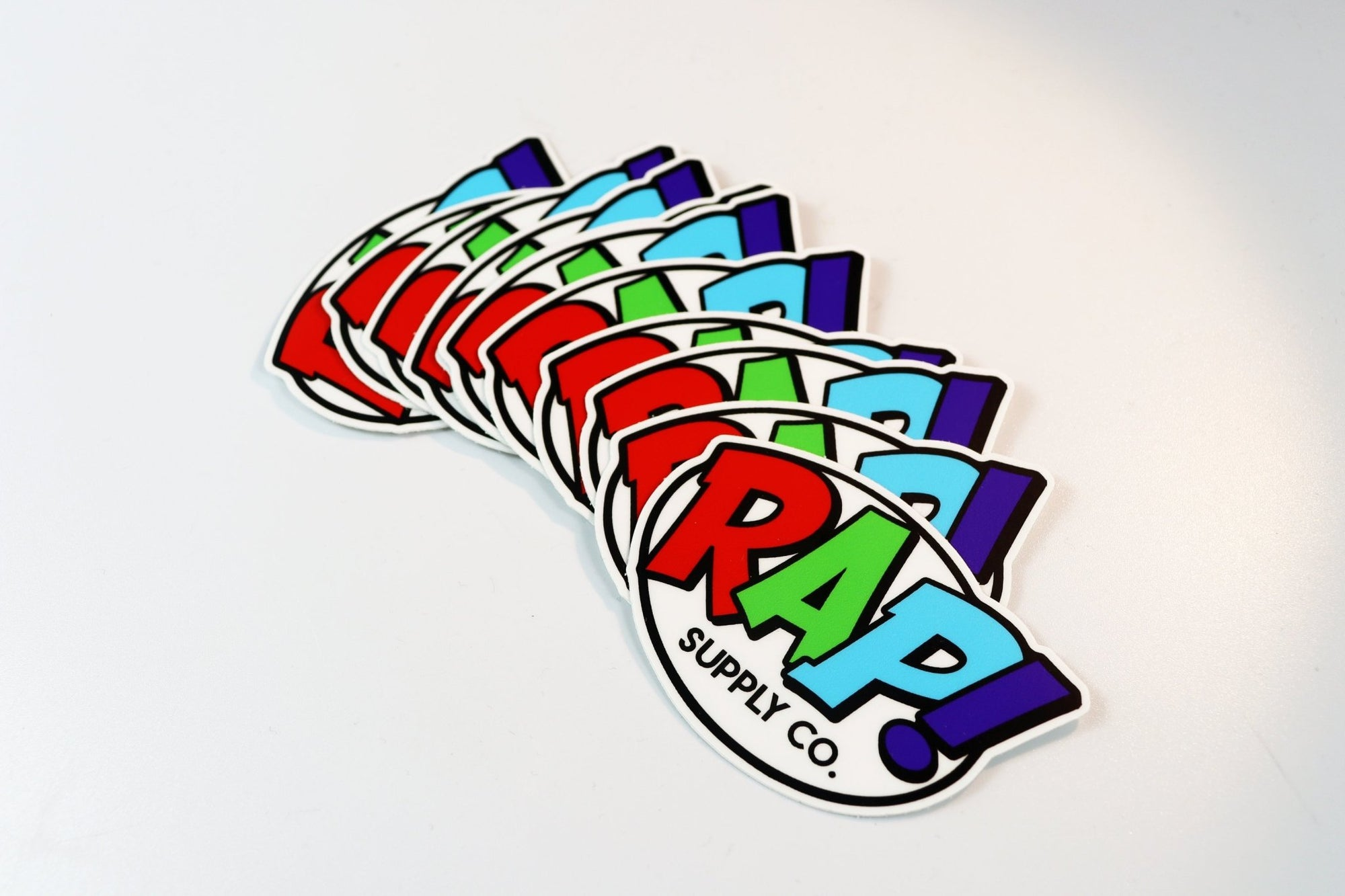 Rap Supply Co Sticker! - Rap Supply Co