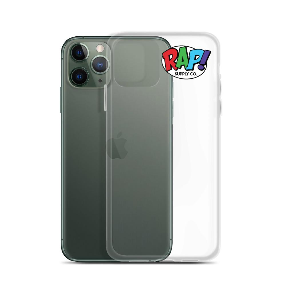 RSC Clear iPhone Case - Rap Supply Co.