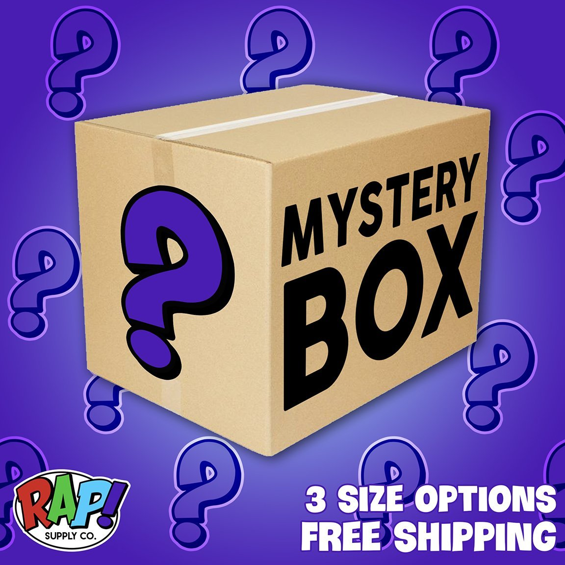 THE MYSTERY BOX - Rap Supply Co