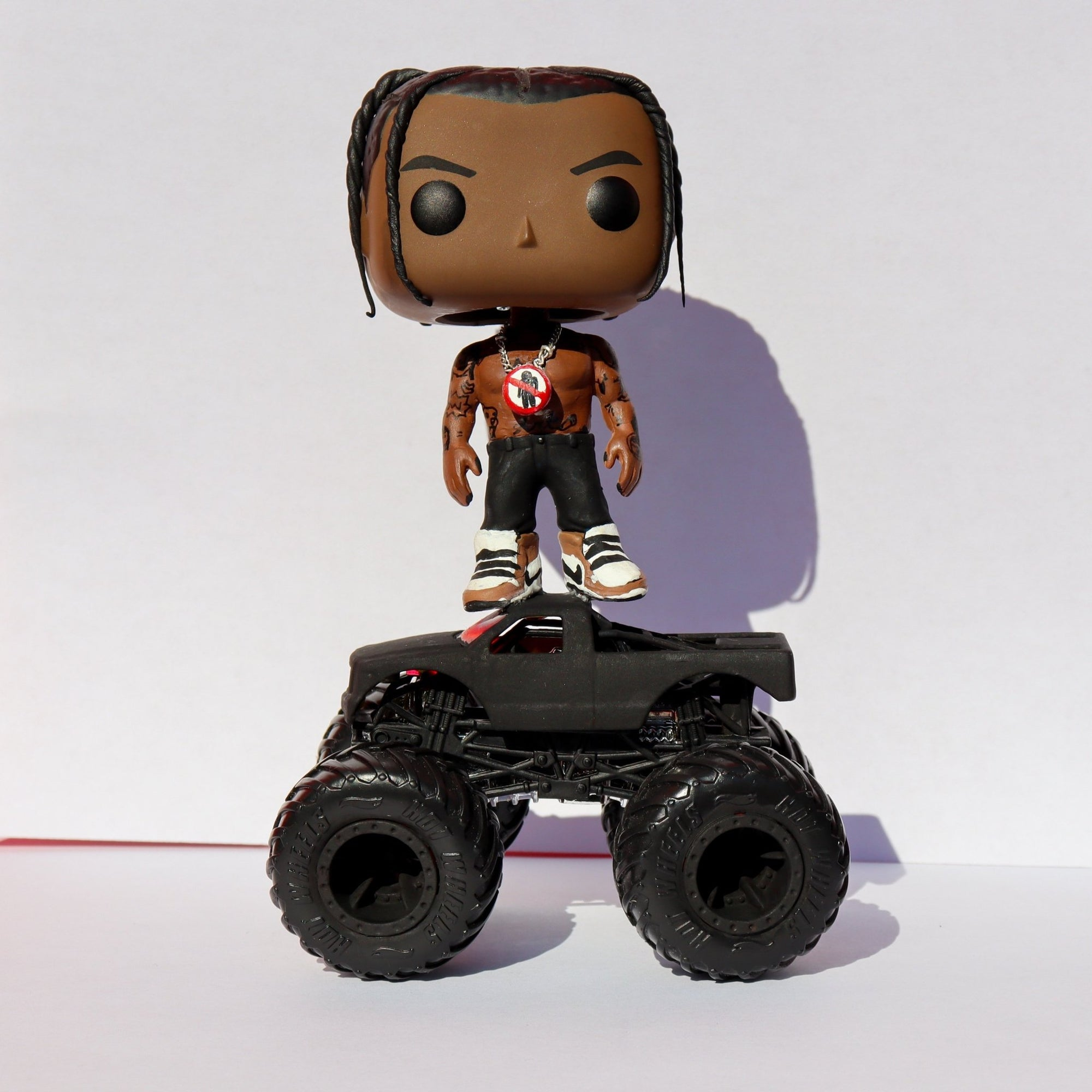 Travis 01 (Rodeo) w/ Truck! - Custom Bobblehead POP! - Rap Supply Co.