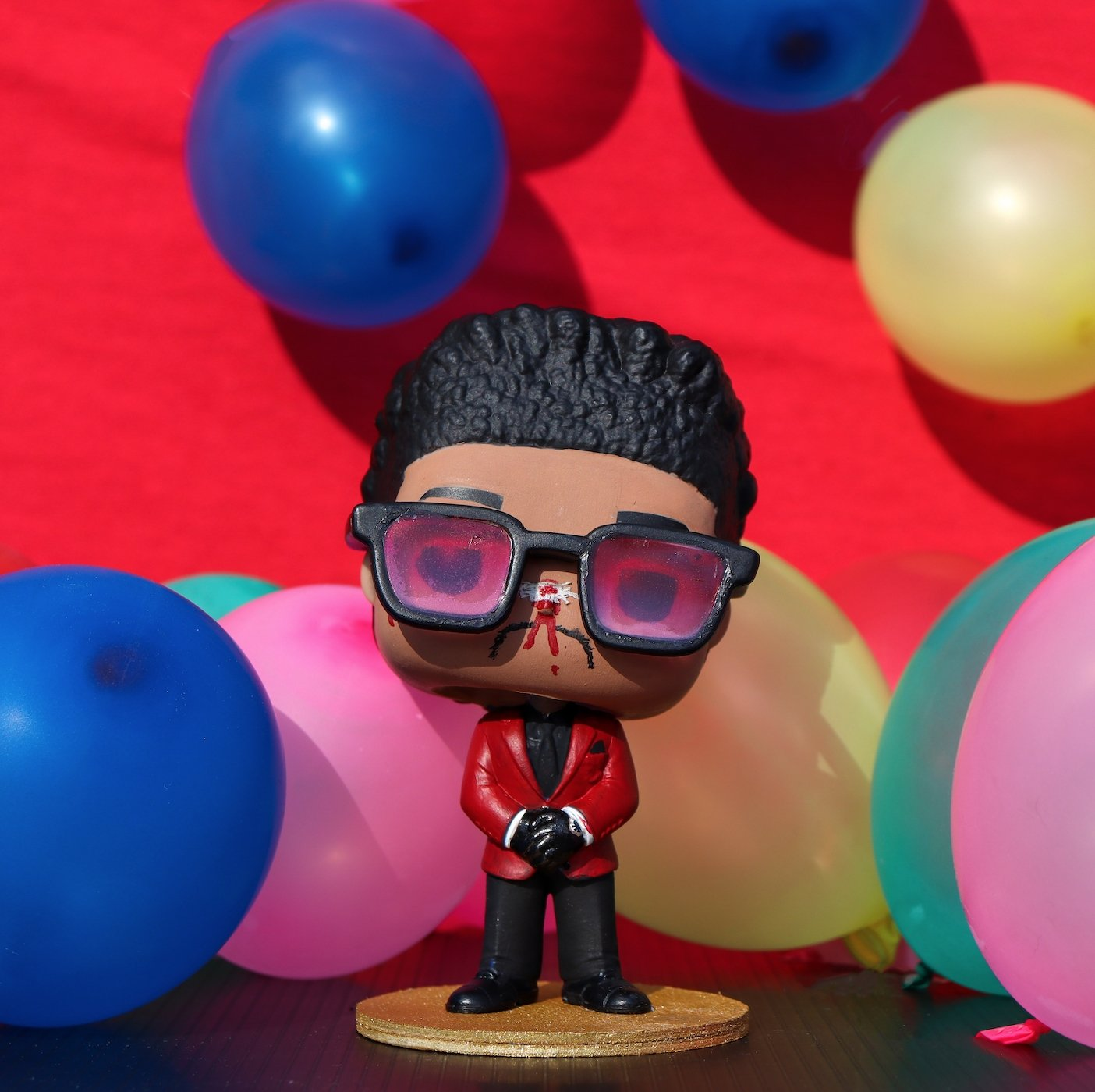 Weeknd 01 (After Hours) - Custom Bobblehead Pop - Rap Supply Co.