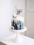 Personalised Name & Age Cake Topper - Mixed Font
