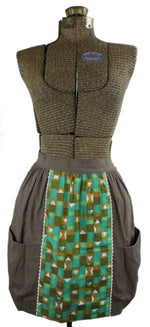 Brown & Green Apron