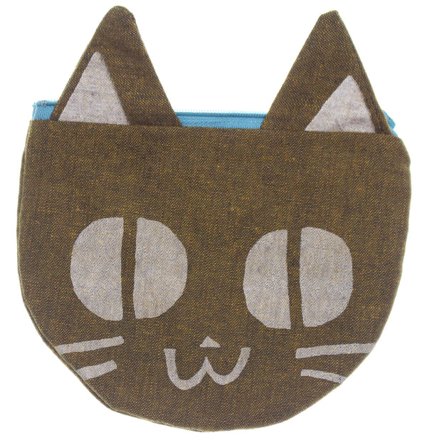 Brown Kitty Pouch - Hoglumps