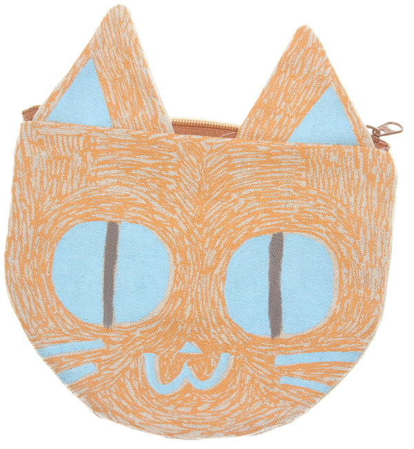 Orange Kitty Pouch - Hoglumps
