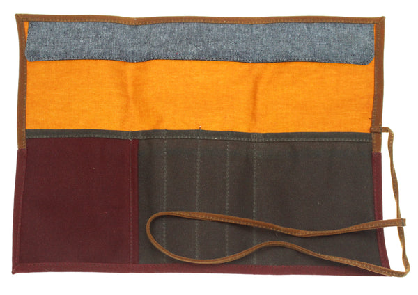 Tool Roll Waxed Canvas - Hoglumps
