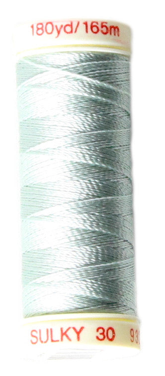 SULKY Rayon Solid 30wt Thread 165m - Jade Tint