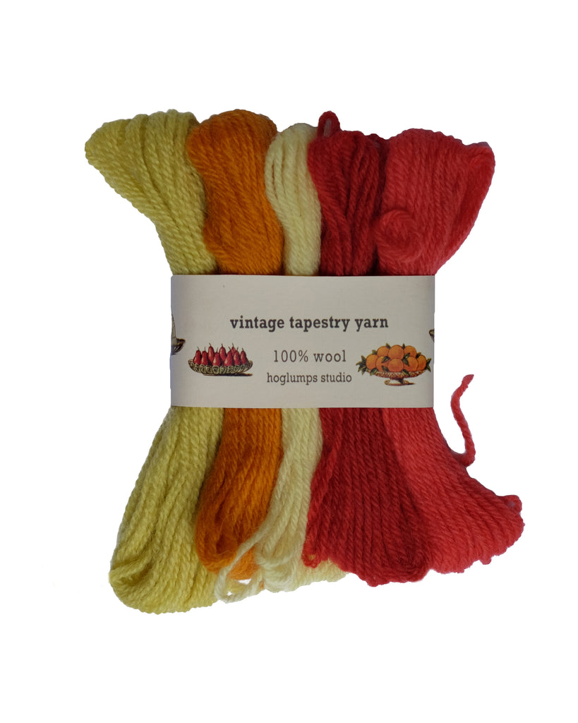 Fruits - Vintage Tapestry Yarn Pack - Hoglumps