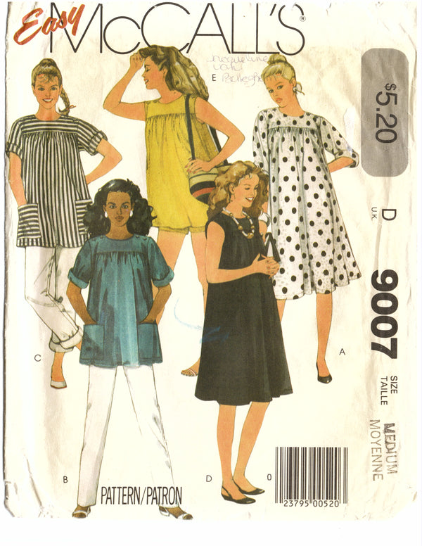 McCalls 9007 Dress Sewing Pattern - Hoglumps