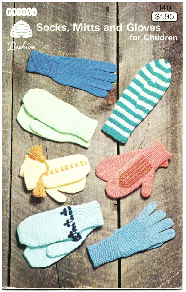 Patons Socks, Mitts and Gloves for Children - Hoglumps