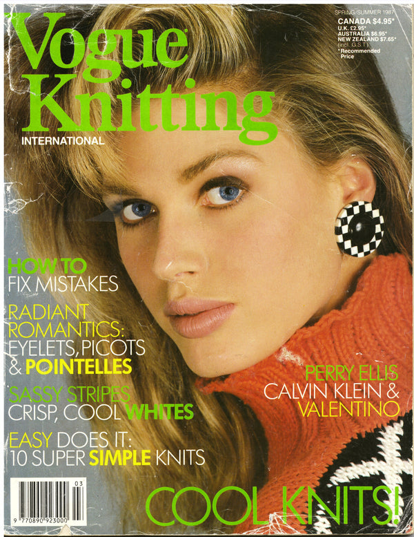 Vogue Knitting Spring/Summer 1987 - Hoglumps