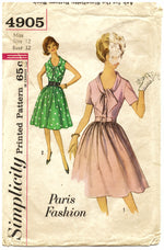 Simplicity 4905 Dress Sewing Pattern