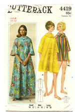 Butterick 4419 Cover-Up Sewing Pattern