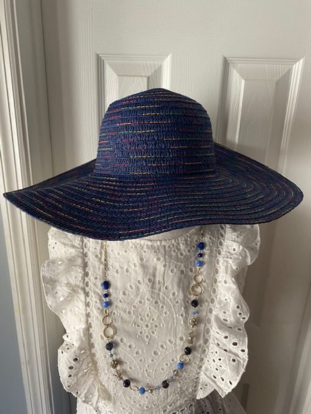 Womens Wide Brim Straw hats