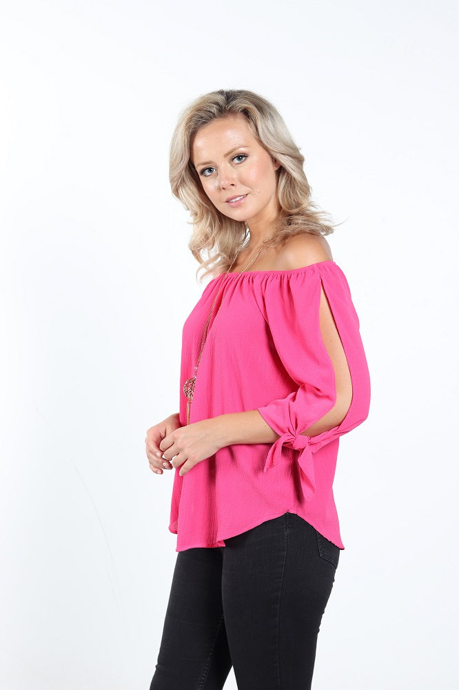 Women's Off-Shoulder Top