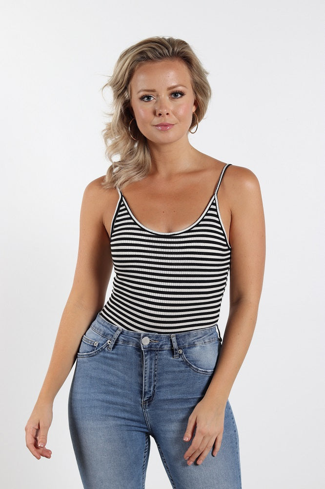 Cute striped bodysuit for a perfect warm weather