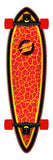 33.0 Santa Cruz - Flame Dot Pintail Longboard