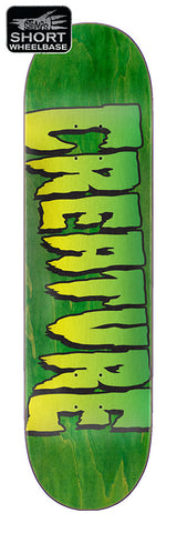 8.5 Creature - Green Logo Deck