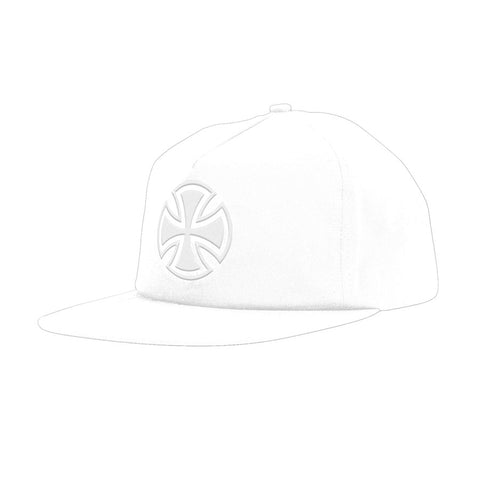 Independent - Bar/Cross Fade Out Unstructured Hat