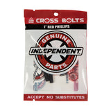 Independent - 1 in. Phillips Hardware Black/Red